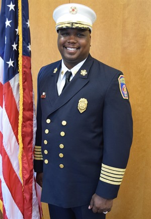 Fire Chief Reginald Freeman
