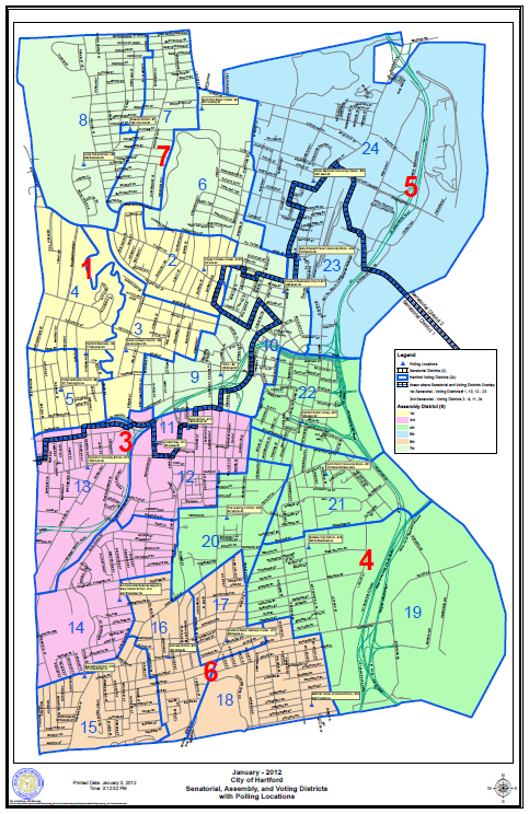 Voting District Map